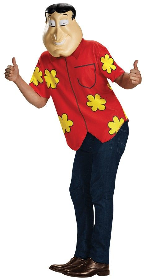 Family Guy Quagmire Deluxe Adult Costume