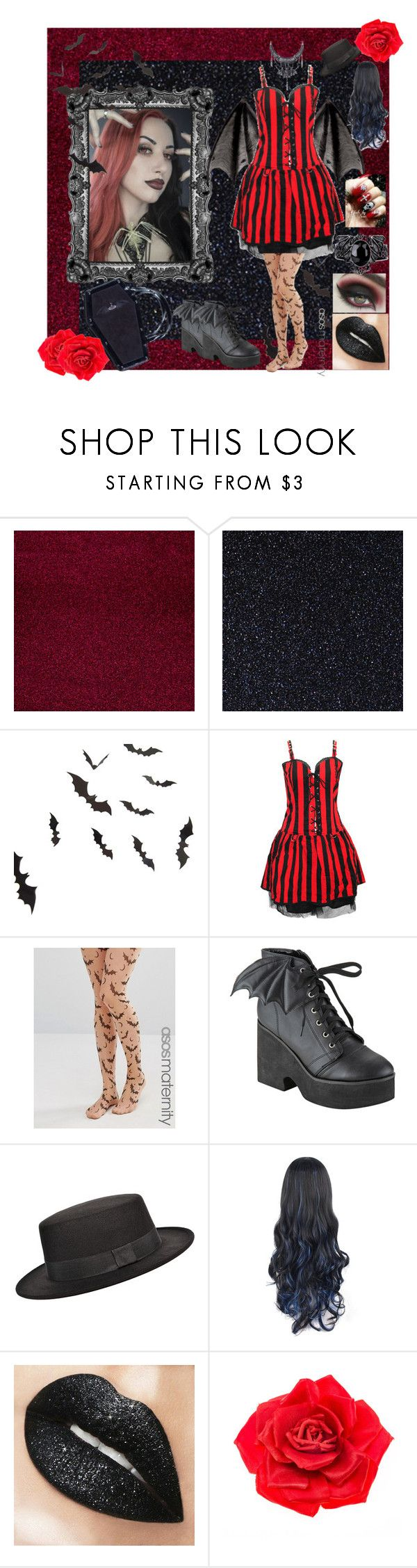 """""""Bats Day with Ash Costello!"""" by alishataylor ❤ liked on Polyvore featuring ASOS, Iron Fist and Johnny Loves Rosie"""