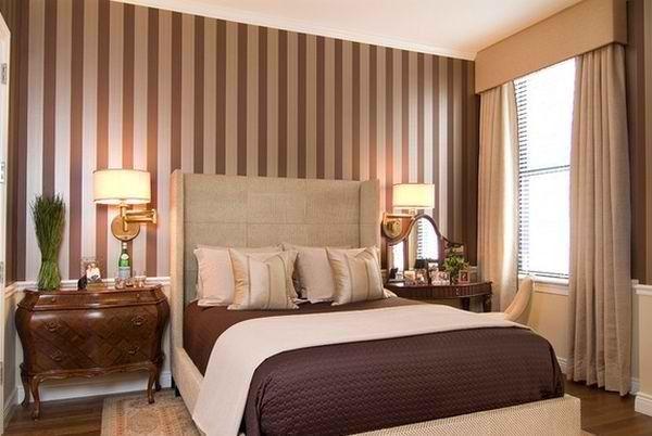 Vertikale Streifen Können Veriticality In Ihrem Schlafzimmer