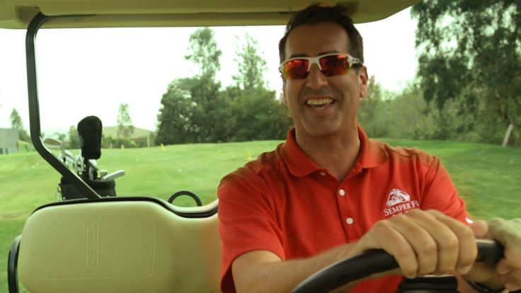 If there is one thing Rob Riggle loves more than golf, it's Veterans!