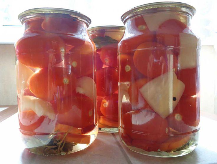 Roșii marinate pentru iarnă - dulci, gustoase și extrem de aromate, de îți vine să le mănânci pe toate... - Bucatarul