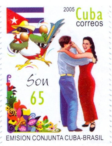 2005 - Cuba - Emision Conjunta Cuba-Brasil