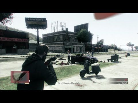 GTA 5 Gameplay Rampage Five (Grand Theft Auto 5)