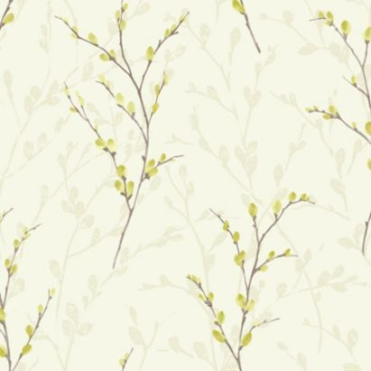 Willow Wallpaper in Green by Arthouse Eco £12.98 from B&Q