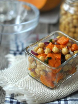 Sütőtökös-csicseriborsós saláta | Laktózérzékenység, laktózintolerancia, tejcukor érzékenység, tejallergia