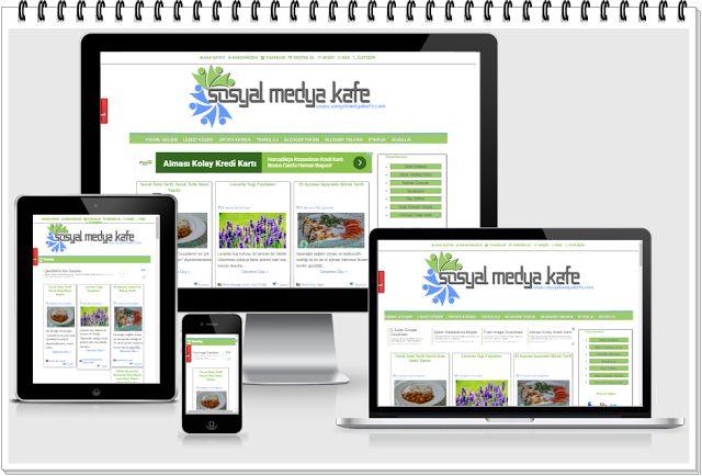 Sosyal Medya Kafe-Güncel Blog: Sosyal Medya Kafe Responsive Blog Tasarımı ile Yen...