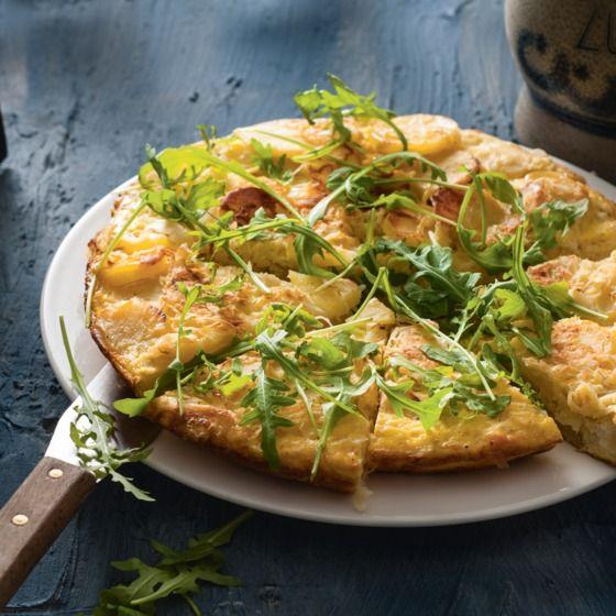 Het recept van de dag is: Zuurkooltortilla met aardappel en pastinaak!