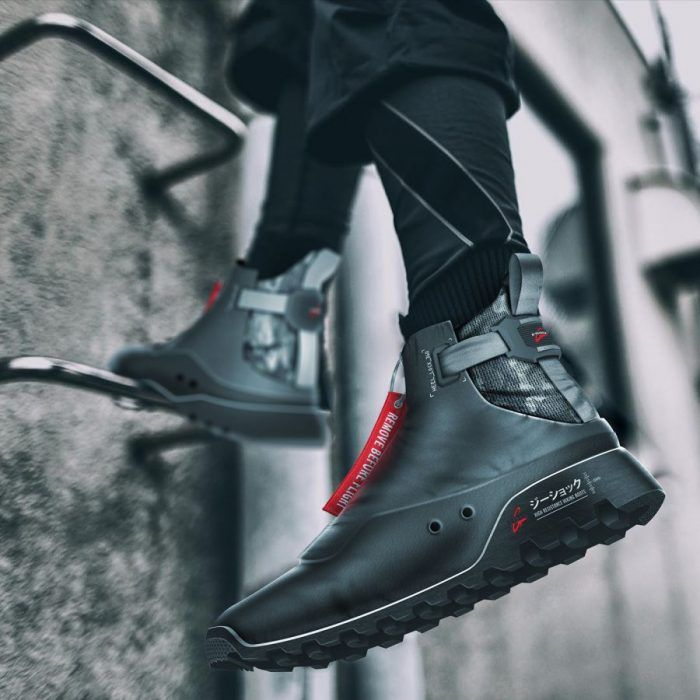 Antoine Giard – G-Shock military boots concept