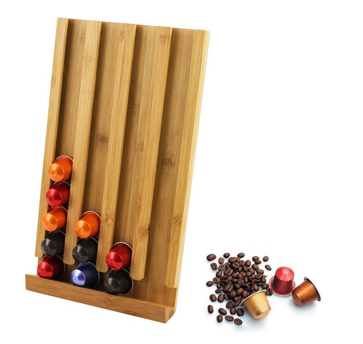 Bamboo 40pcs Coffee Capsule Rack, AU$24.95 plus postage from Always Sales (price correct as at 18.09.17)