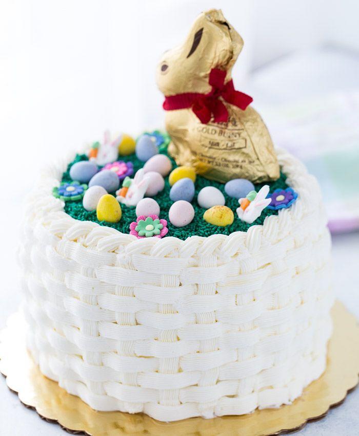 47 best edible easter images on pinterest easter dinner easter easter basket weave cake negle Images