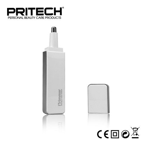 Pritech Best Quality Professional Nose Ear Hair Trimmer For Men Family Face Care Styling Tools Black White Color