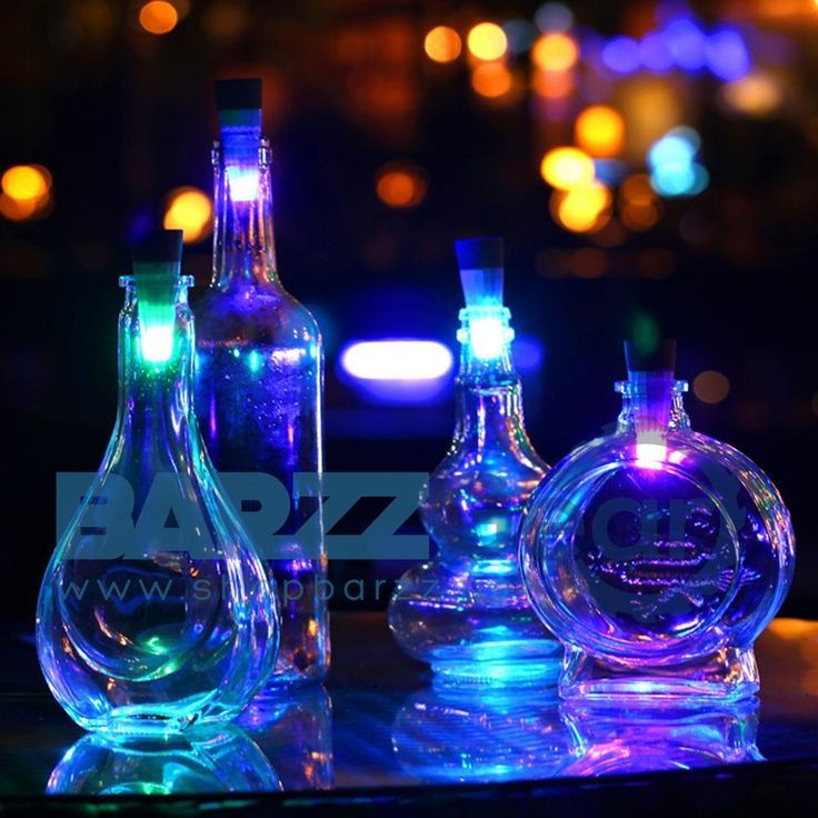 ITimo Cork Shaped LED Night Light Wine Bottle Lamps USB Rechargeable Color Changing Novelty Lighting Vase Party Decors