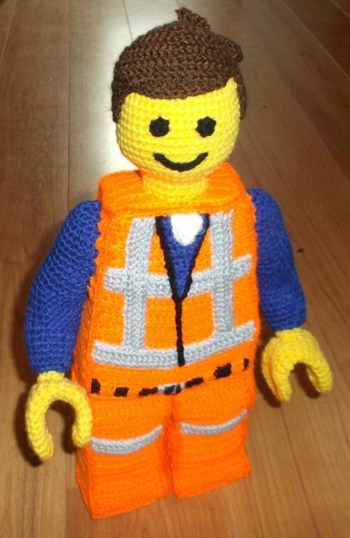 (4) Name: 'Crocheting : EMMET Lego movie style Crochet PDF U.K