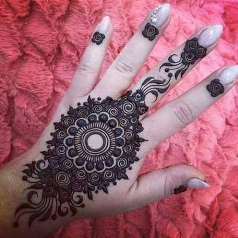 Follow #DurrainQadri #Mehndi Amazing Indian mehndi designs