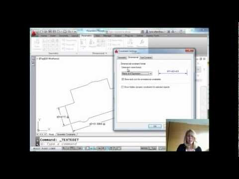 Lynn Allen AutoCAD Tip: Save Time with Smart Parametric Dimensions
