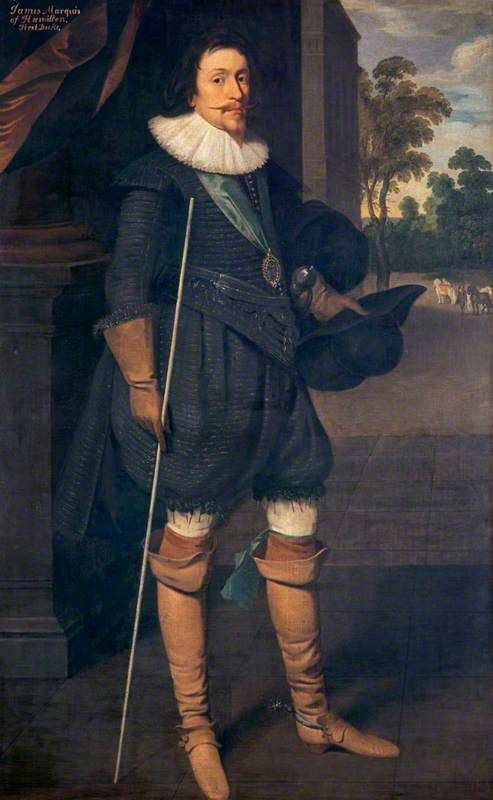 James Hamilton (1589–1625), 2nd Marquess of Hamilton, Statesman