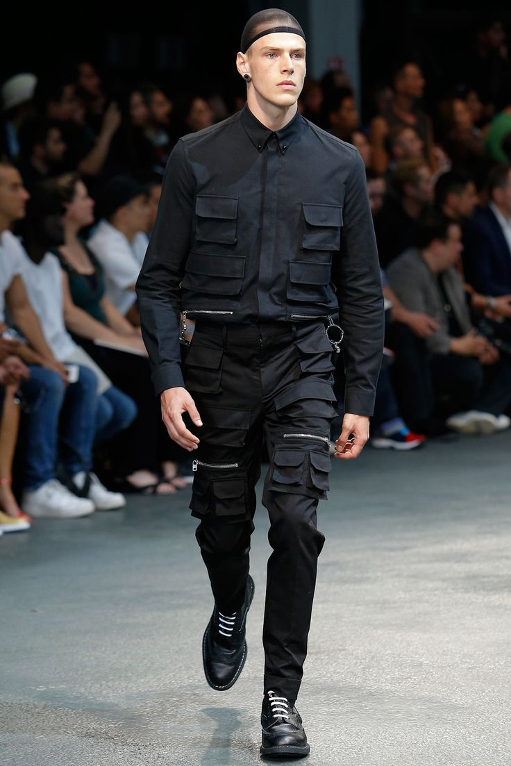 Visions of the Future // Givenchy Spring 2015 Menswear - Collection - Gallery - Style.com