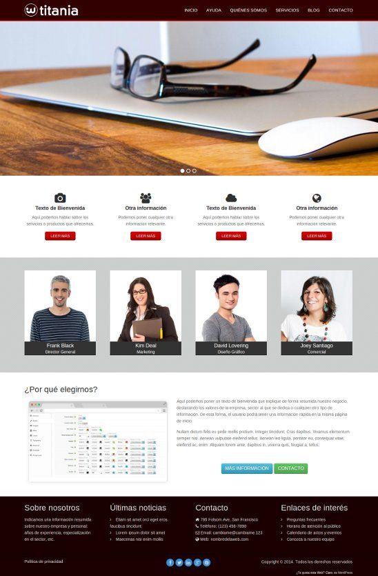 Descargar theme #WordPress Español Gratis