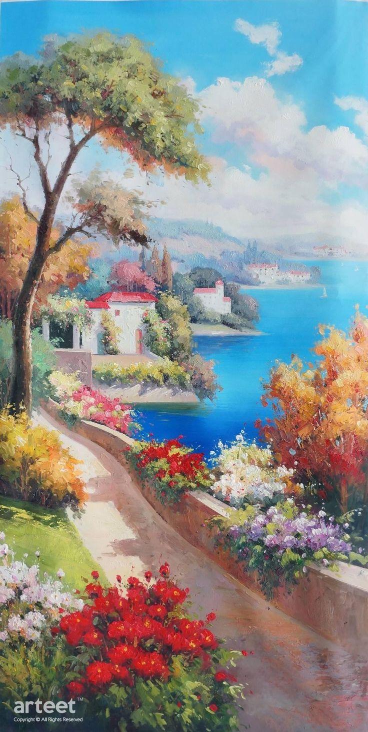 Colori Estivi, Art Painting / Oil Painting For Sale - Arteet™