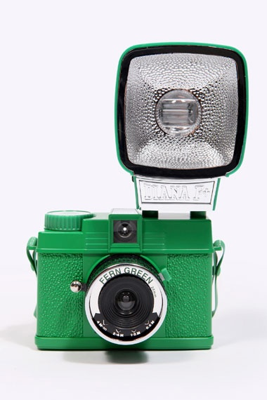 Lomography Diana Green Mini With Flash at Urban Outfitters