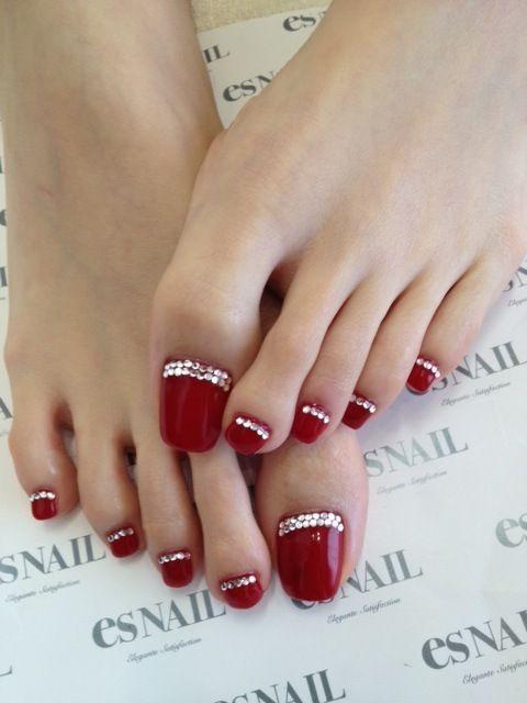 429 best Toe nails images on Pinterest   Nail design, Nail polish ...