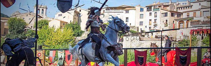 Conoce esta selección de lugares y pueblos medievales y de leyenda para ir con niños, lugares que mantienen viva la historia medieval de España