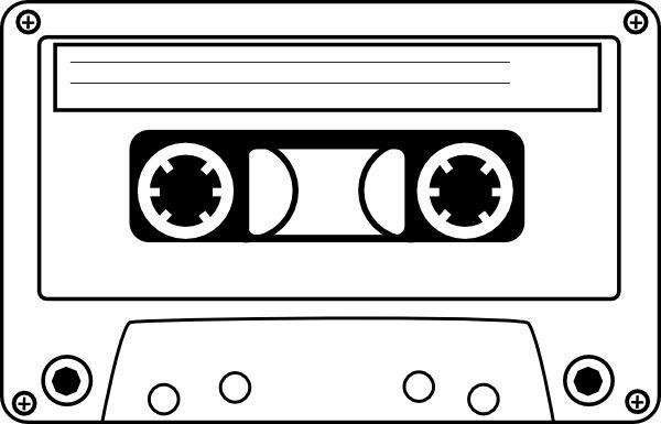 Cassette tape clipart | Cassette clip art - vector clip art online, royalty free & public ...