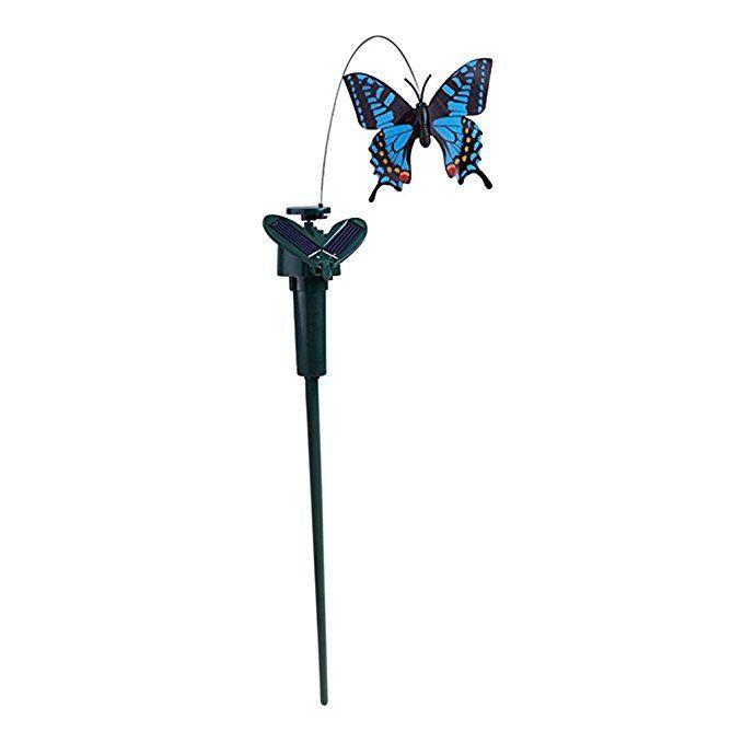Homyl Solar Schmetterlinge Auf Stick Vogel Auf Stiks Gartenstecker Blumenstecker Blumentopfstecker Schmetterlingss Gartenstecker Blumenstecker Terassen Ideen