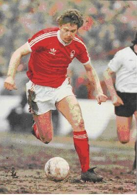 Tony Woodcock of Nottingham Forest in 1978.