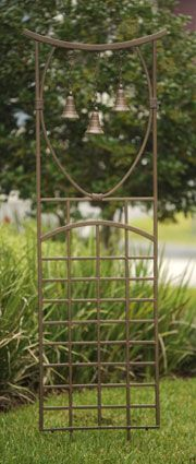 Three Bell Trellis - just put this in, really nice
