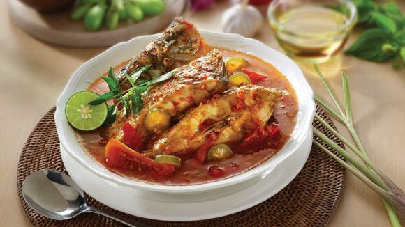 Sup ikan Asam Pedas Khas Kalimantan