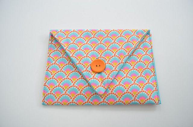 envelopje uit stof (tutorial + patroon)