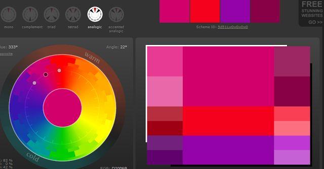 Elven Garden Quilts: Colour Theory 101: Colour Harmony