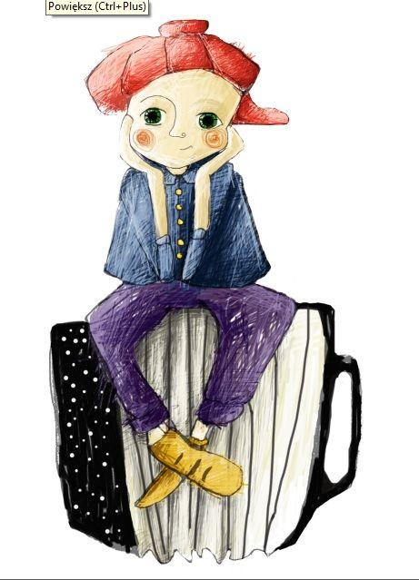 Jaśmina Parkita - artystka, projektantka okładek płyt, plakatów, ilustratorka książek dla dzieci