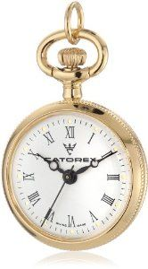 Catorex Women's 675.6.12424.110 Les petites 18k Gold Plated Brass Floral Picture Back Pendant Watch Catorex. $231.64
