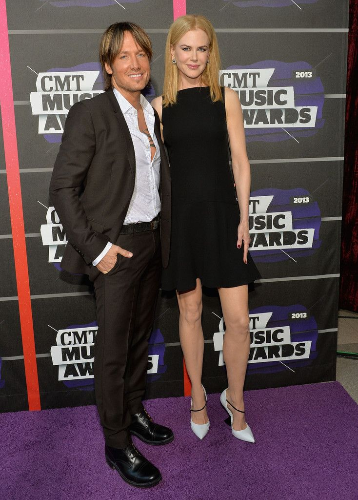 Keith Urban - Arrivals at the CMT Music Awards