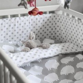Farg & Form Sheep grey baby bedding set - Farg & Form available online at Nubie | Nubie - Modern Baby Boutique