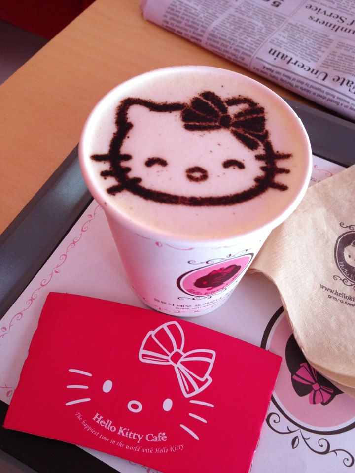 Hello Kitty Cafe in 서울특별시