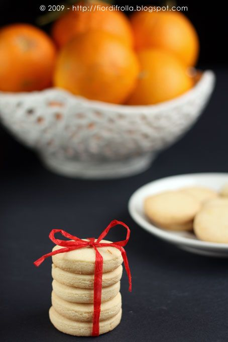 Shortbread all'arancia