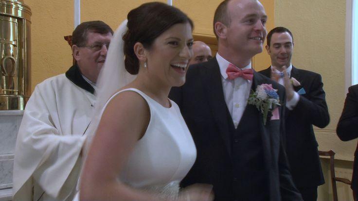 Majella & Brian Wedding Video by Gaffey Productions, Videographer www.GaffeyProductions.com
