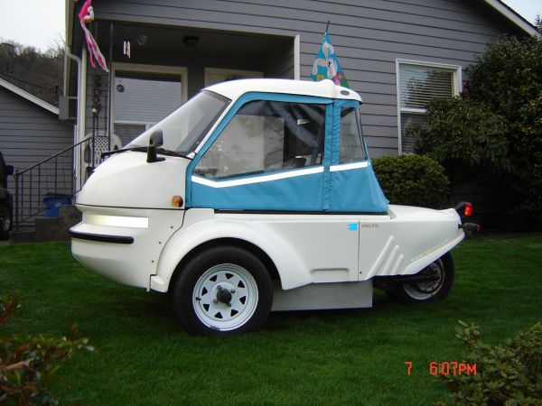 rare 2001 GIZMO Electric car for sale for $7,500 in Oregon, 4,900 miles