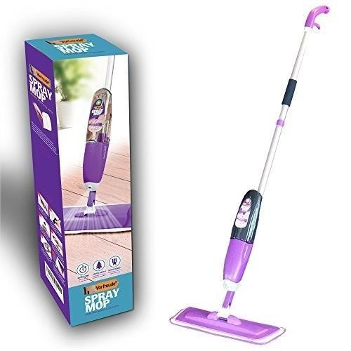 Floor Spray Mop Lifetime Replacement 700ml Safer than Steam Tile Laminate Wood