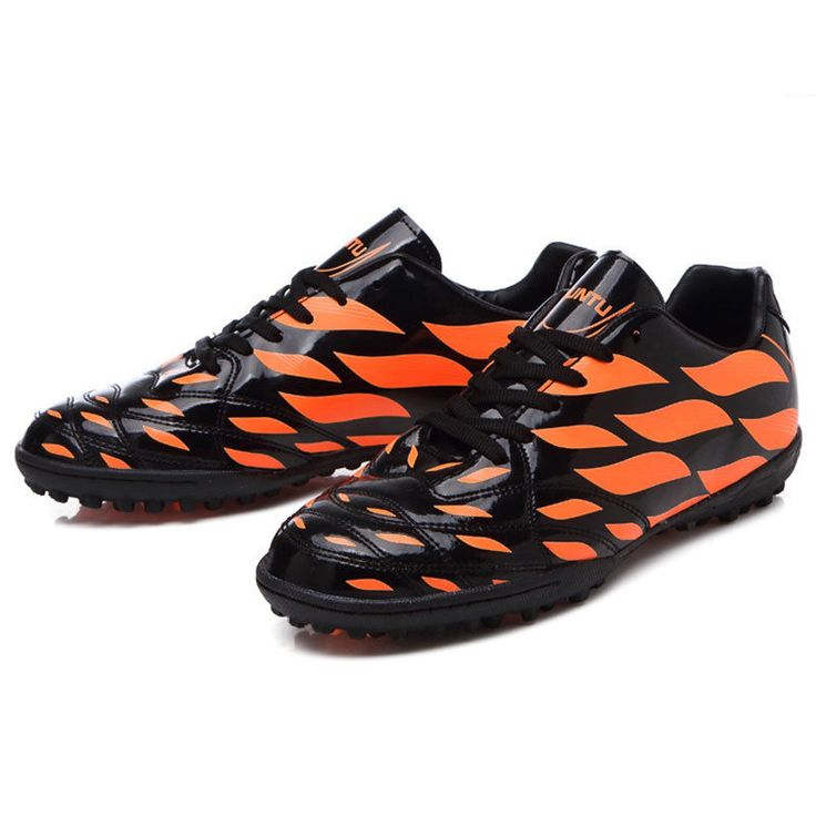 Kids Indoor Soccer Shoes Boy Girls Soccer Cleats TF Football Trainers Sport Shoe #Unbranded