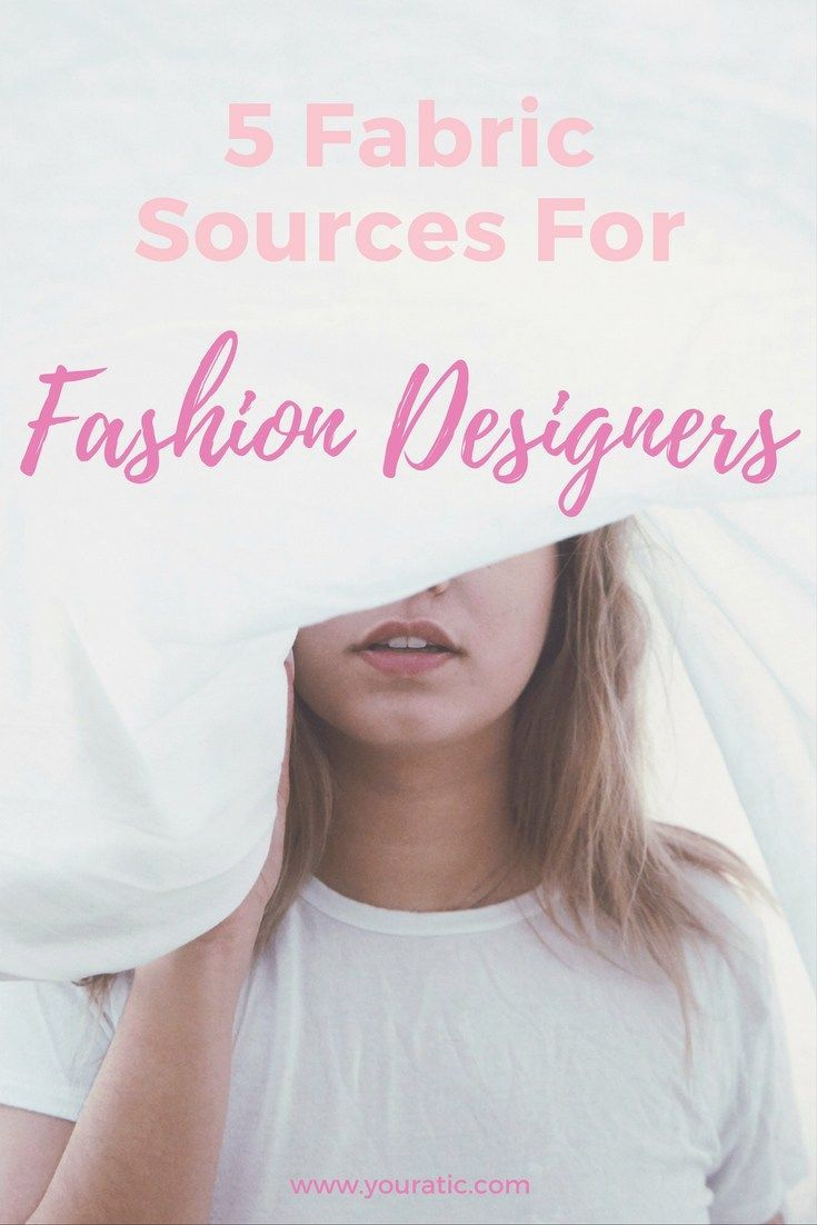 5 Fabric Sources For New Designers Marketing Clothing Fabric Marketing Website
