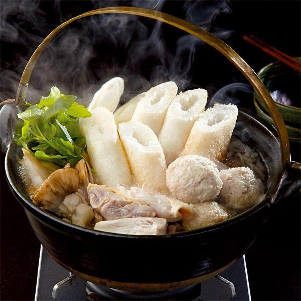日本三大地鶏のひとつ、比内地鶏の旨みを堪能できる鍋料理。【秋田 比内地鶏きりたんぽ鍋】