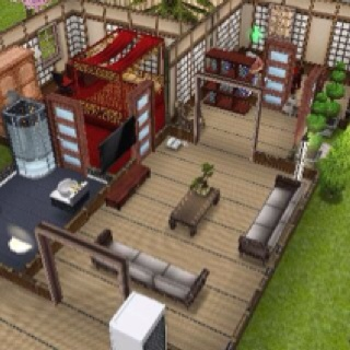 My sims freeplay japanese inspired house design the sims pinterest my sims house design - Sims freeplay designer home ...