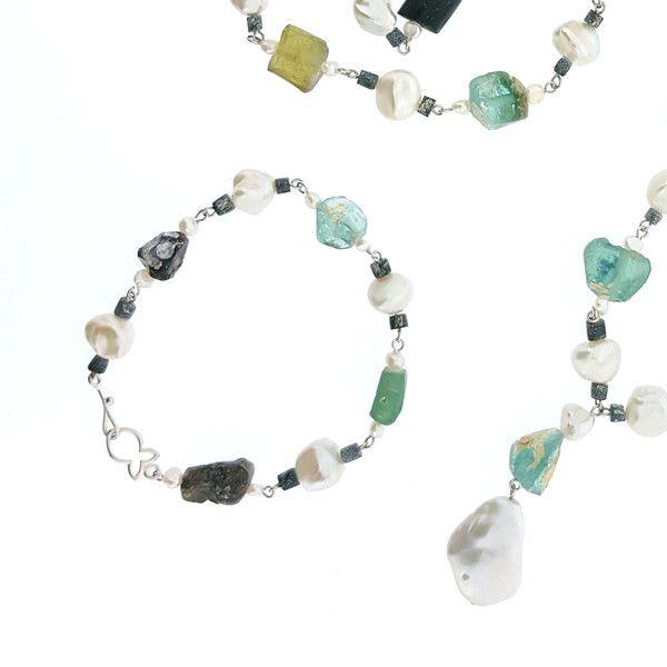 Antique Glass Bracelet