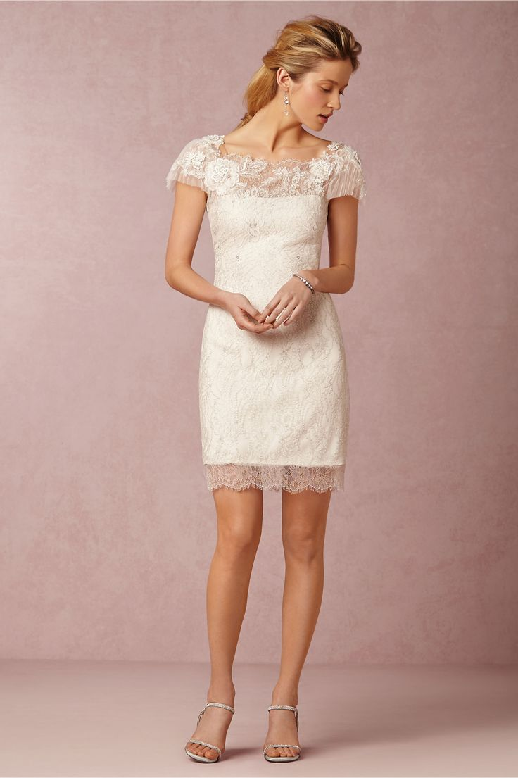 Simple BHLDN Shined Cocktail Dress