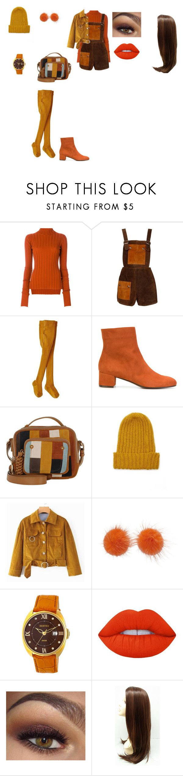 """fall outfit"" by helena94-1 on Polyvore featuring Theory, L'Autre Chose, See by Chloé, Forever 21, Wild & Woolly, Bertha, Lime Crime and polyvorefashion"
