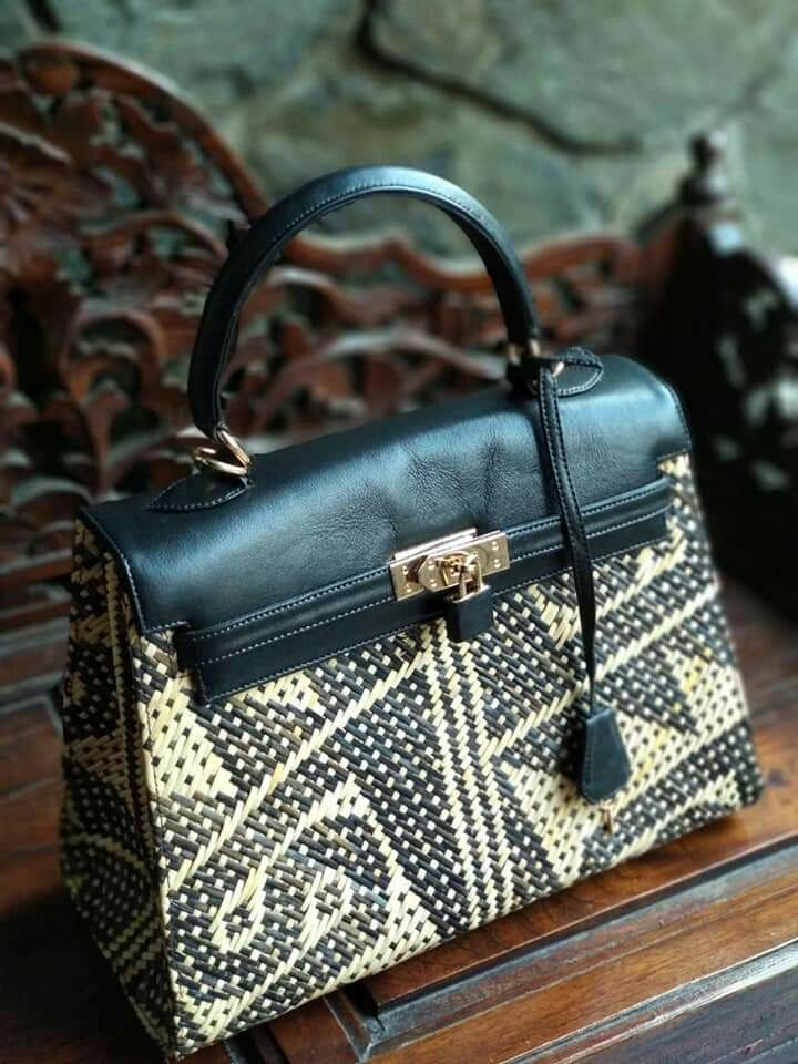 Rhabags Order whatsapp +6281310037425 Rattan handbags and clutches  tas   tasrotan  rotan  decoupage  decoupagematerial  taskulit  leather  dayak   kalimantan ... 027e8b7db6